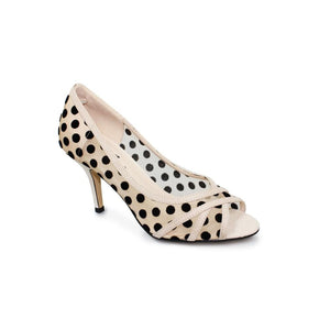 Lunar Bowen FLR464 wedding races peep toe kitten heel