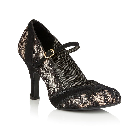 Delilah vegan friendly court shoe by Ruby Shoo