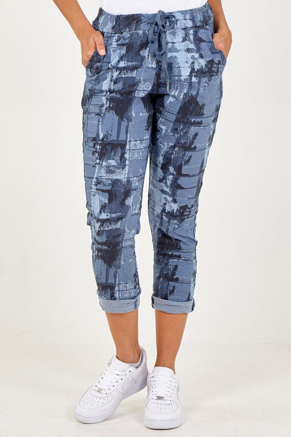 Magic abstract trousers