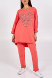 Sarah Jewelled heart loungewear set
