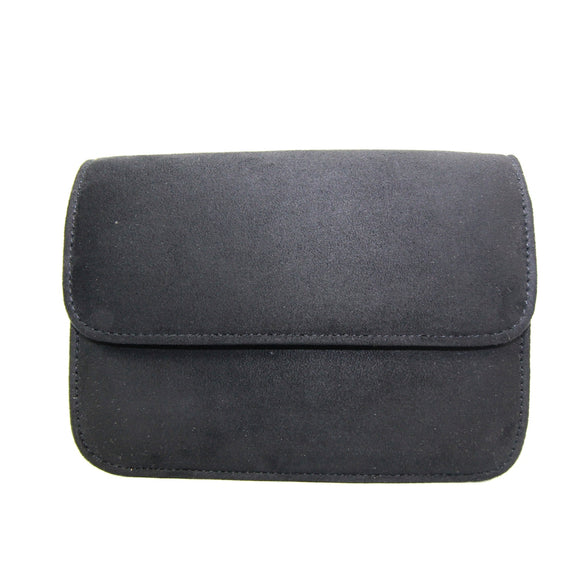 Pistachio clutch bag by Lunar with detachable shoulder strap