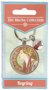 Mucha Collection RCKEY43 Key Ring