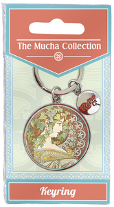 Mucha Collection key ring RCKEY44