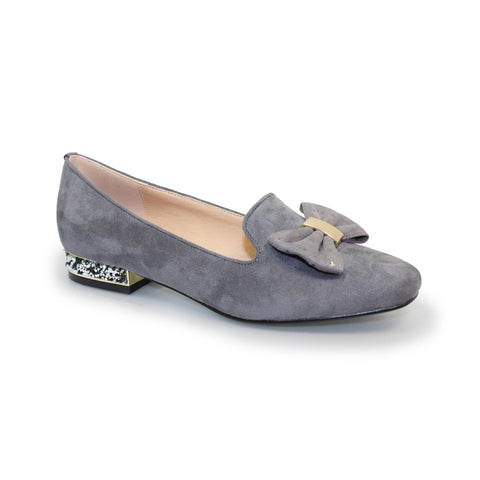 Lunar Rutter FLC117 Navy Grey loafer