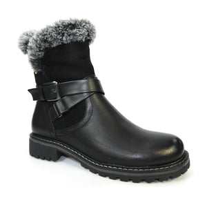 Woodrow boot GLW003 by Lunar soft faux fur lining