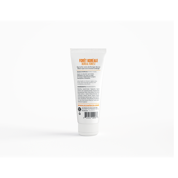 Body lotion - Black spruce & Sweet orange