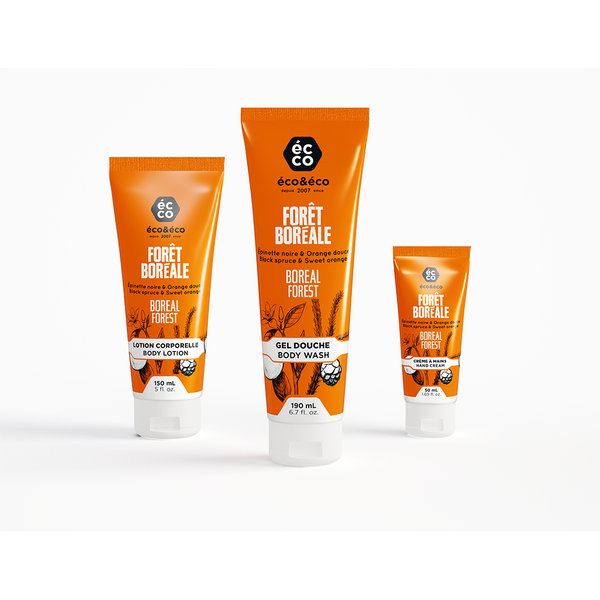 Body care / Pack - Black Spruce & Sweet Orange