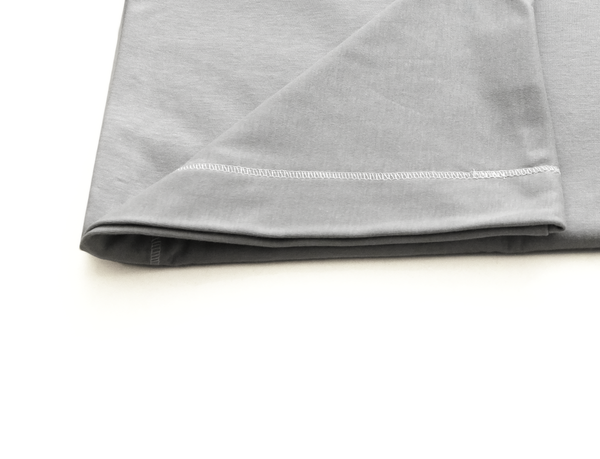 Grey Pillowcase -  Kids Buckwheat Pillow