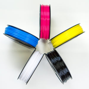 250ft/250g CMYK Color-Calibrated PETG (ABS-R3) 3D Ink® (Opaque) $22 Ea.