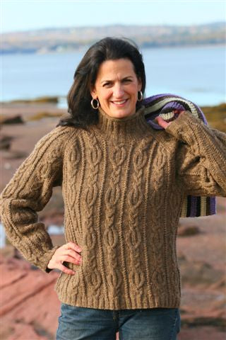 Quoddy Cable Pullover Pattern