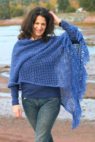 Cottage Craft Crocheted Poncho Pattern