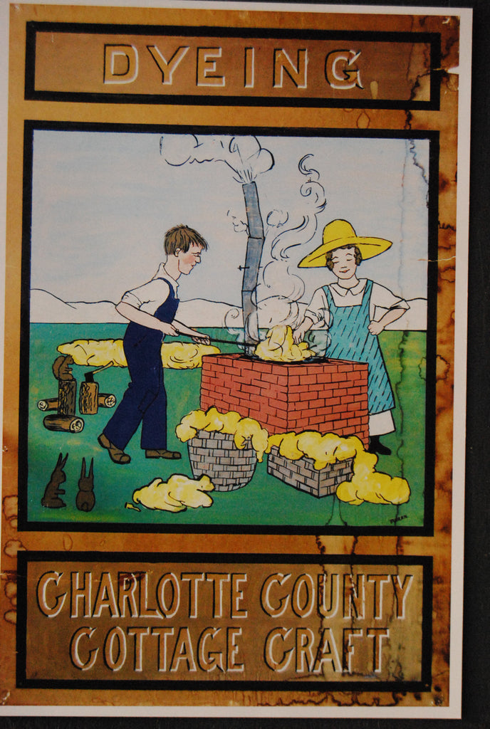Dyeing - Charlotte County Cottage Craft