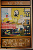Set of 3 Folk Art Prints - Charlotte County Cottage Craft