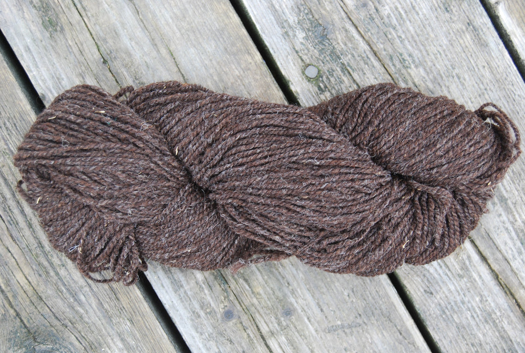 Natural Black Sheep 2 Ply Cottage Craft 100% Wool