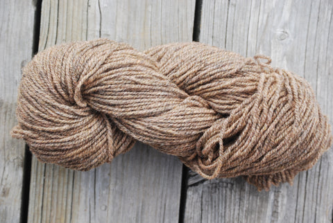 Forest Brown 2 Ply Cottage Craft 100% Wool