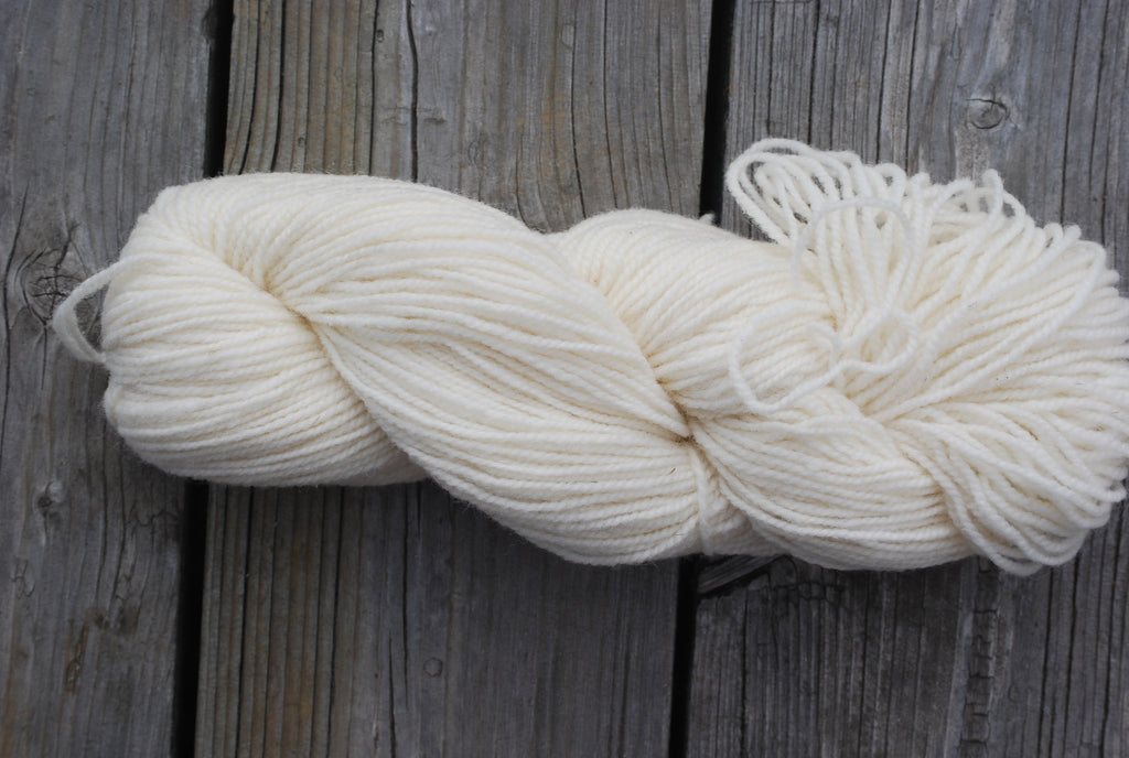 White 2 Ply Cottage Craft 100% Wool