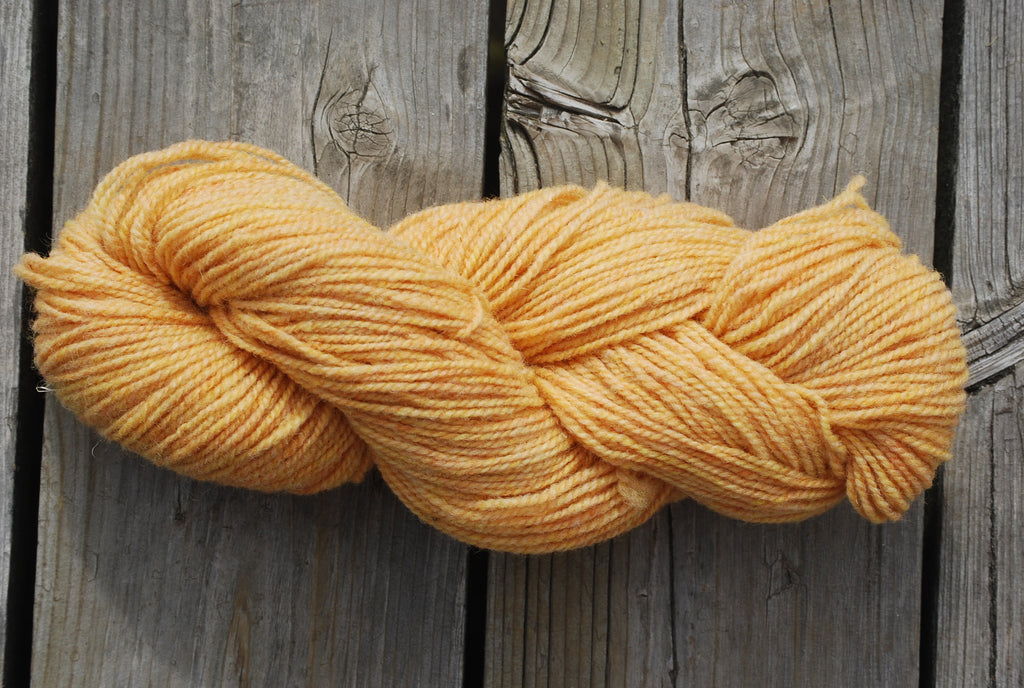 Goldenrod Yellow 2 Ply Cottage Craft 100% Wool