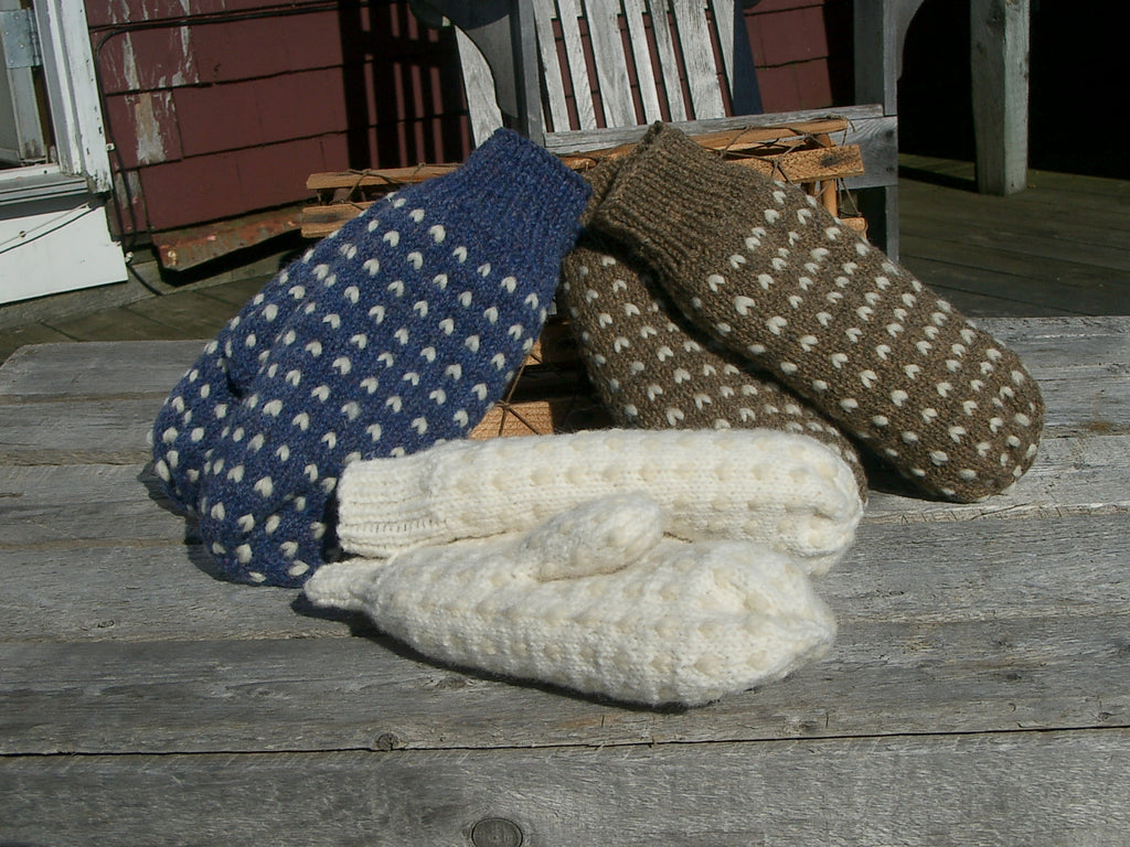 Cottage Craft Fleeced Stuffed Mitts Pattern