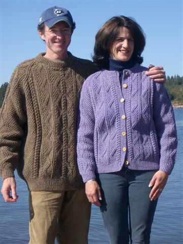 Fundy Fisherman Pullover/Cardigan Pattern