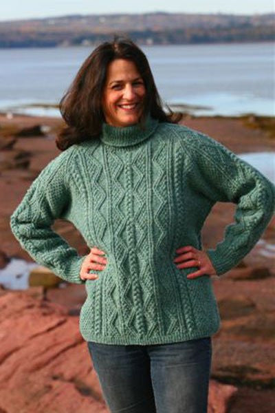 Fundy Fisherman Sweater Kit
