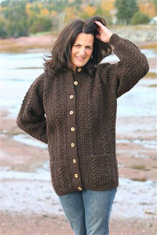 St. Andrews Cabled Cardigan Pattern