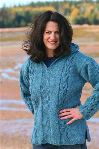 Whale Tail Pullover Sweater Kit