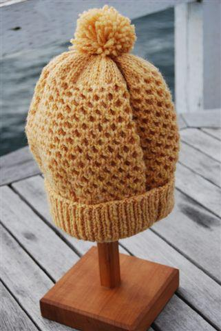 Cottage Craft Honeycomb Toque Pattern