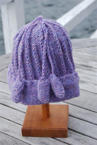 Cottage Craft Bobble Hat Pattern