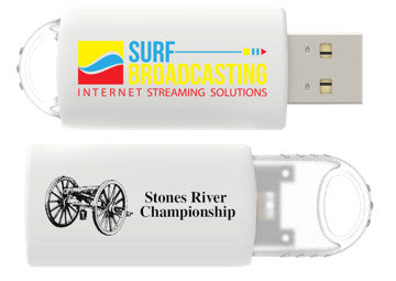 Stones River Championship 2016 Single Band HD Flash Drive - SurfBroadcasting Event Store