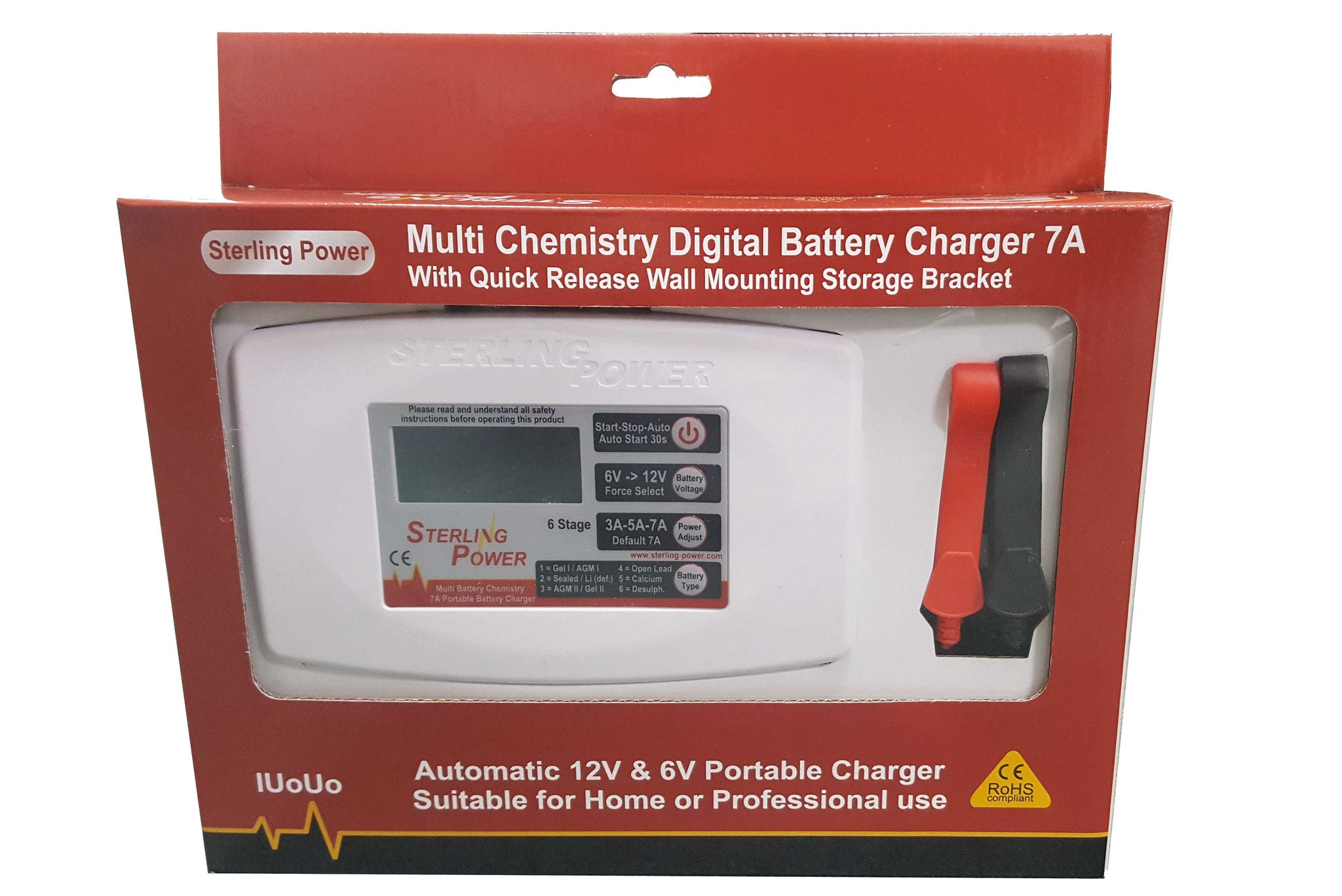 Ultra Portable 7A Battery Charger