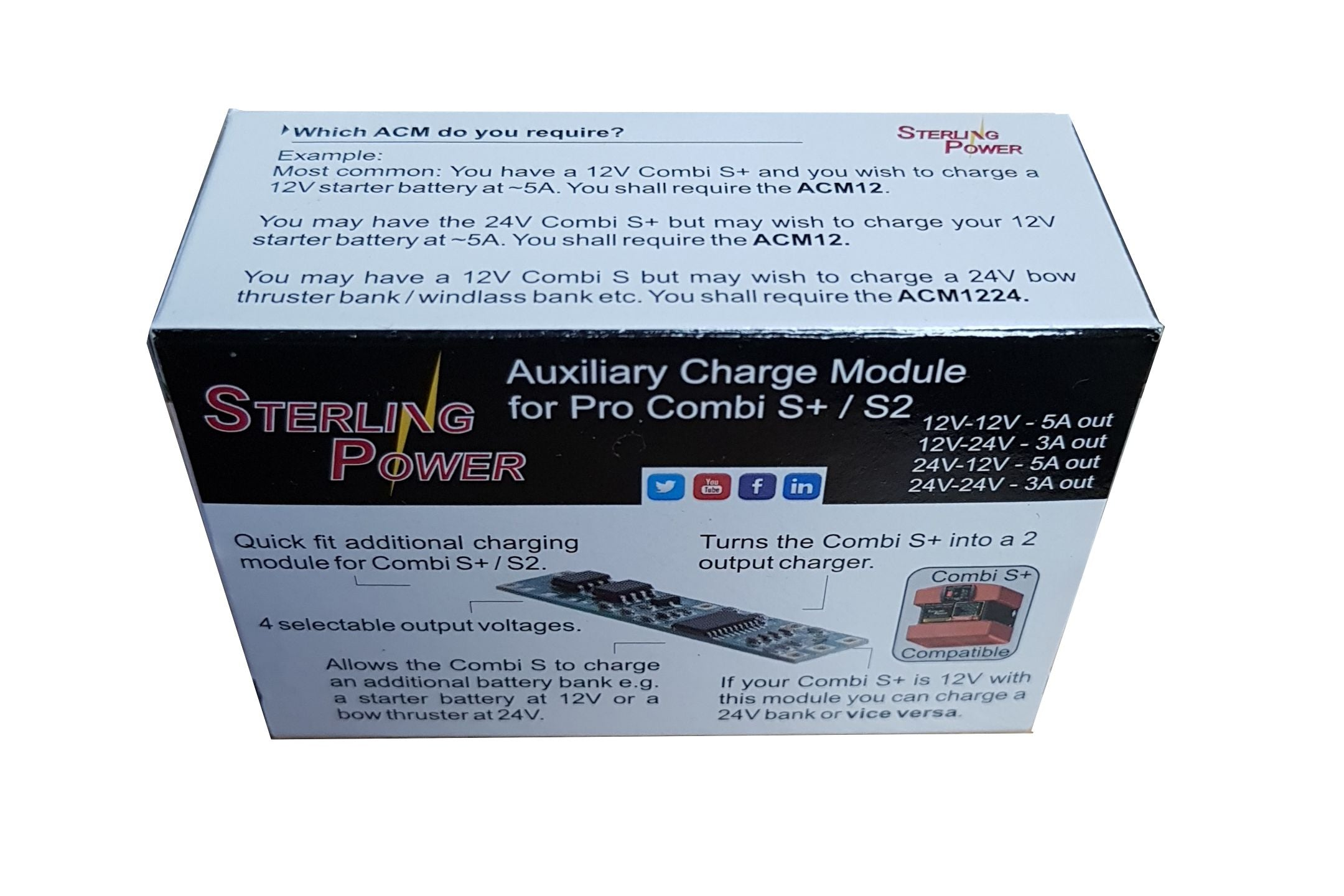 Pro Combi S+ 1600 / 50A Charger *NEW* PCSP