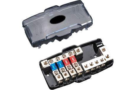 4Way Mini ANL fuse block With Cover