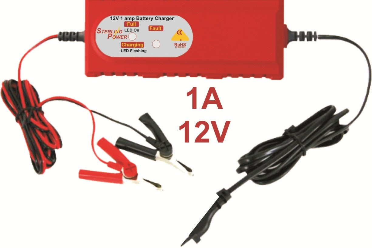 Portable Battery Chargers 1a 6a Sterling Power Products 6v 12v Charger Circuit Constant Current Lead