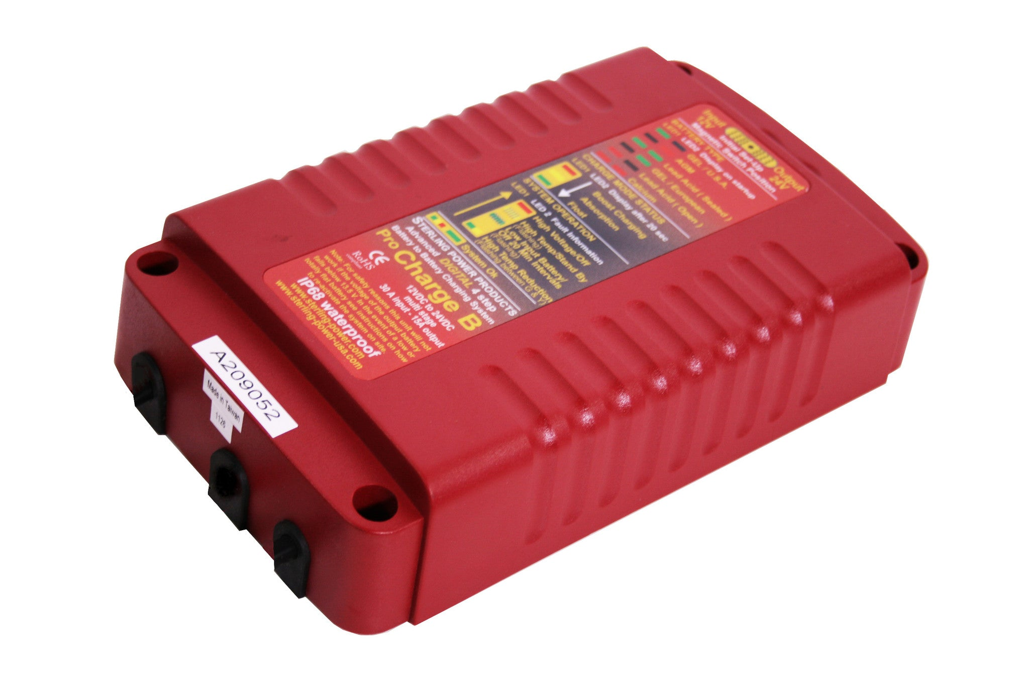 Battery to Battery Chargers (20A 12V/24V/36V) Pro Charge B BBW (Waterproof)