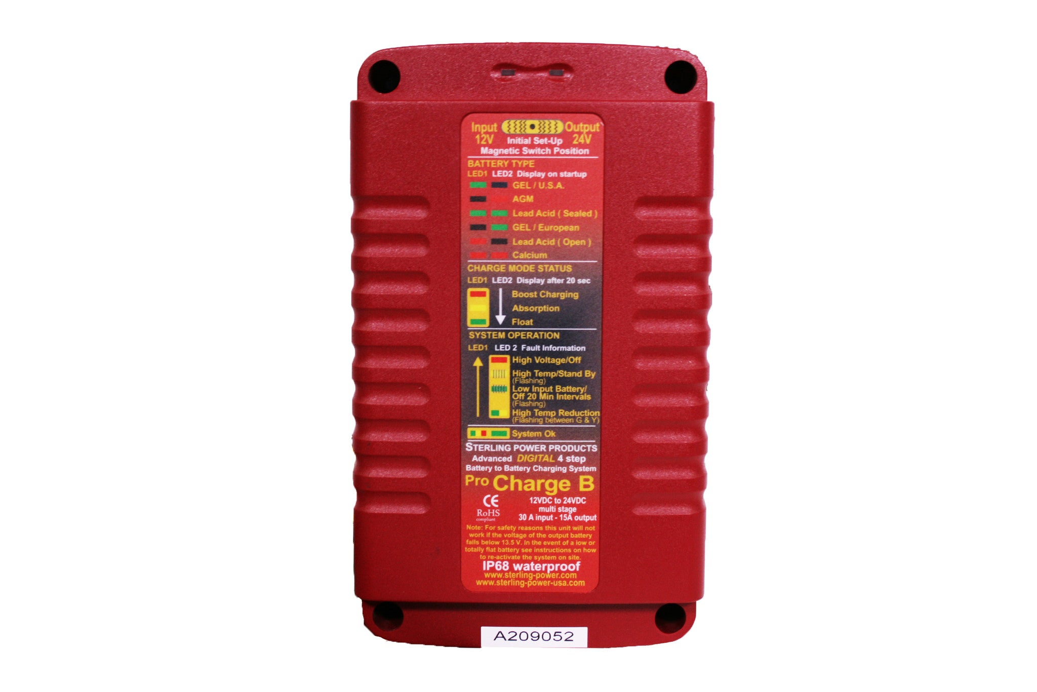 Battery To Chargers 20a 12v 24v 36v Pro Charge B Bbw Minn Kota 36 Volt Wiring Diagram Waterproof