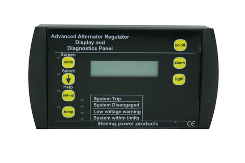 Advanced Digital Alternator Regulator Pro reg D + DW (PDAR/PDARW)  Remote Control only