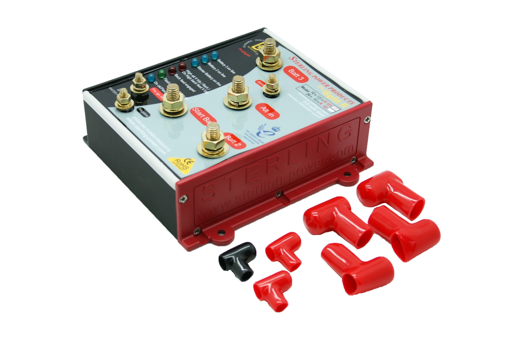 PSRT134 4 output 2 input 0.0V drop splitting system.