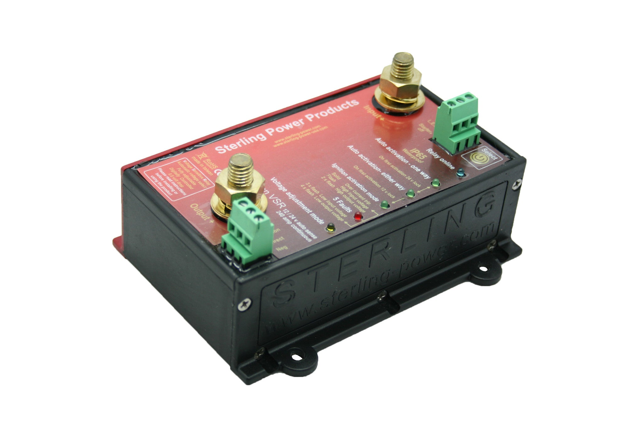 Voltage Sensitive Relay Pro Connect Vsr Sterling Power Products Connects For Example A Simple Regulator From Mains