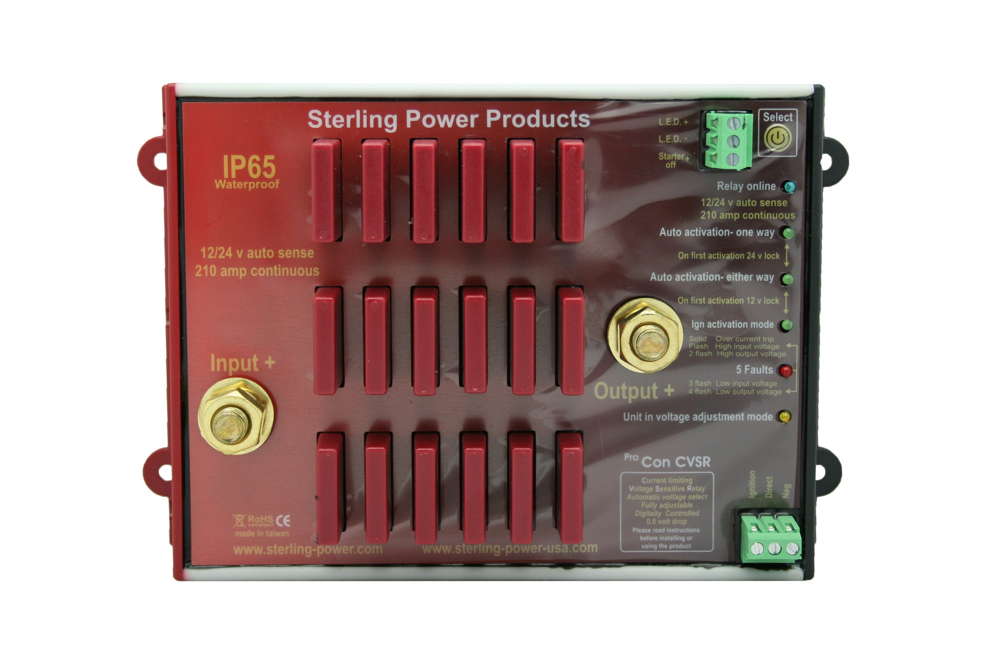 Current Limiting VSR Pro Con CVSR Sterling Power Products