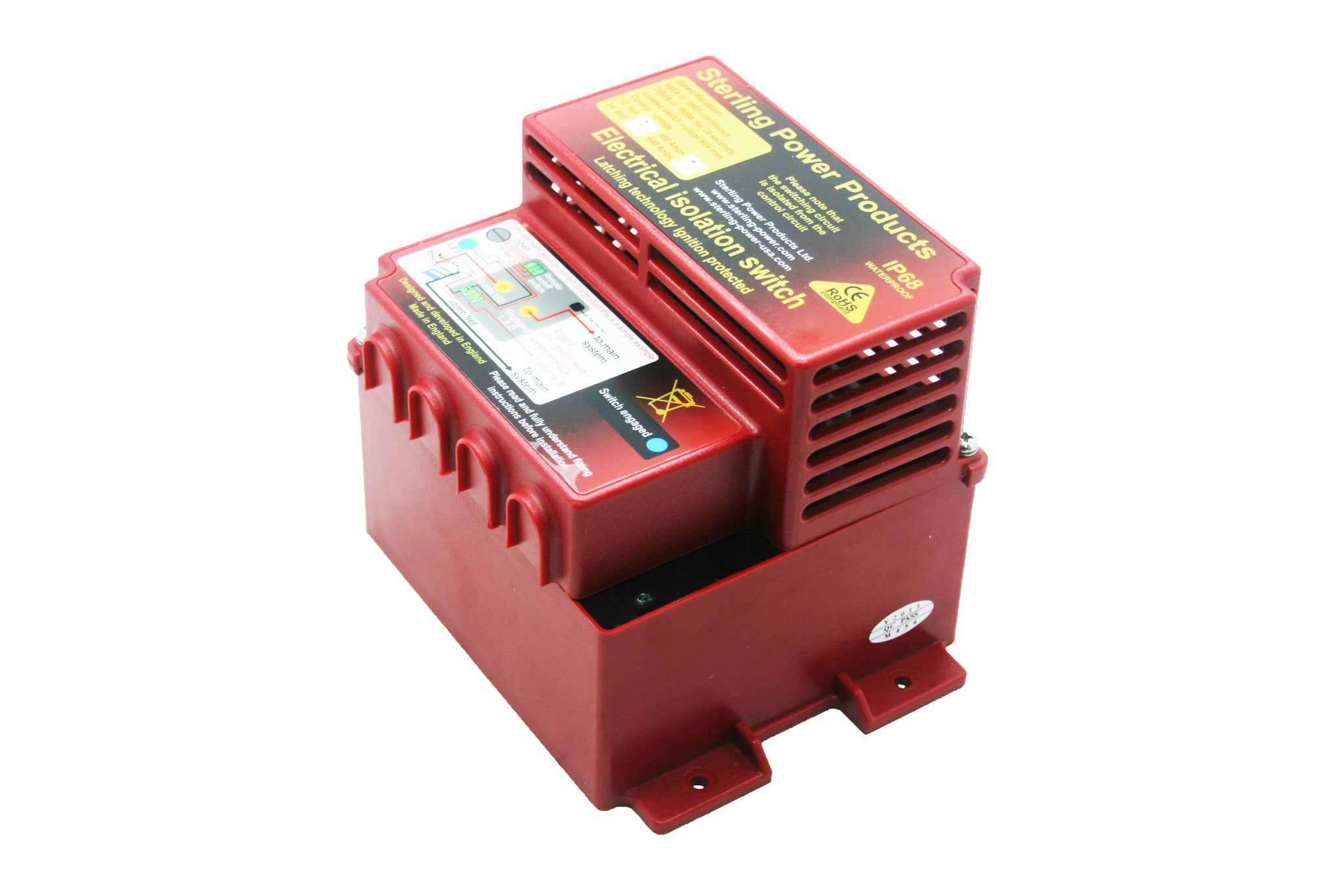 Latching Battery Isolator Elb Elbs Upto 640a Sterling Power Products How Does A Work