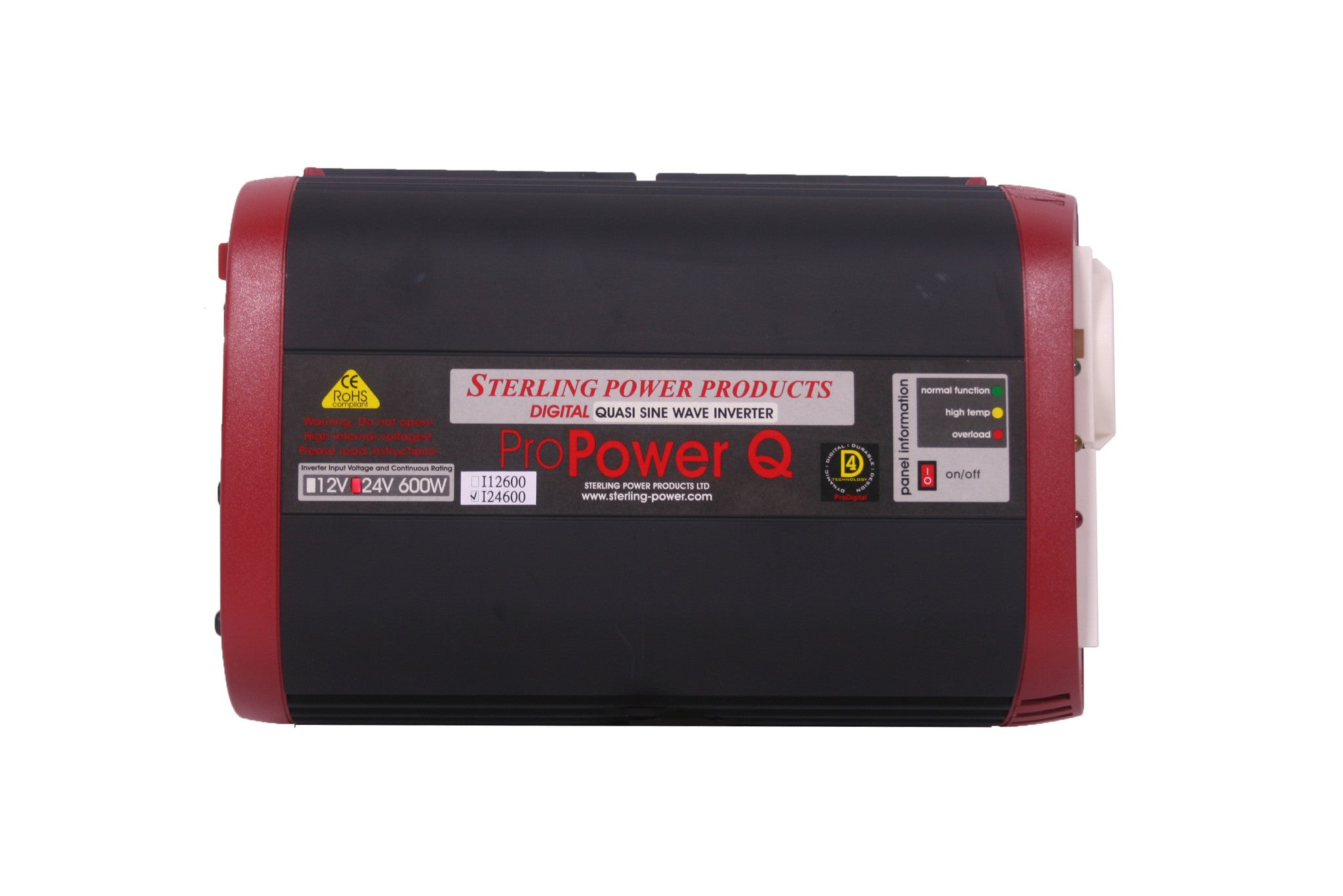 230V Pro Power Q Quasi Sine Inverters 12 & 24V 100-5000W | Sterling ...