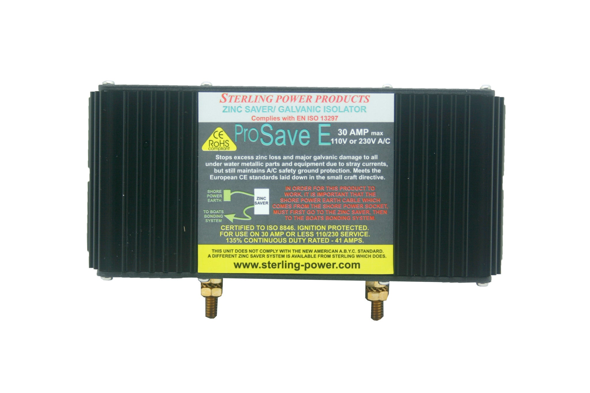 Zinc Savers / Galvanic Isolators
