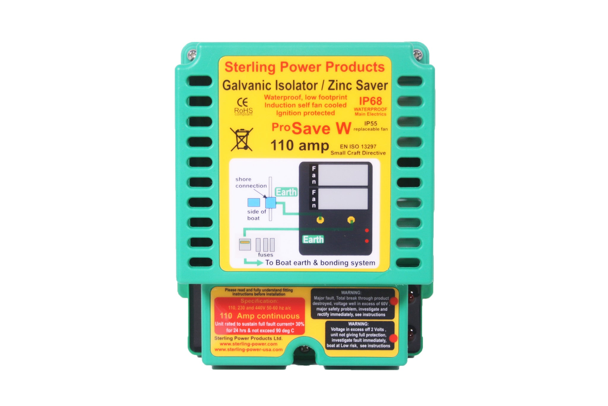 Galvanic Isolator / Zinc Saver (Waterproof)