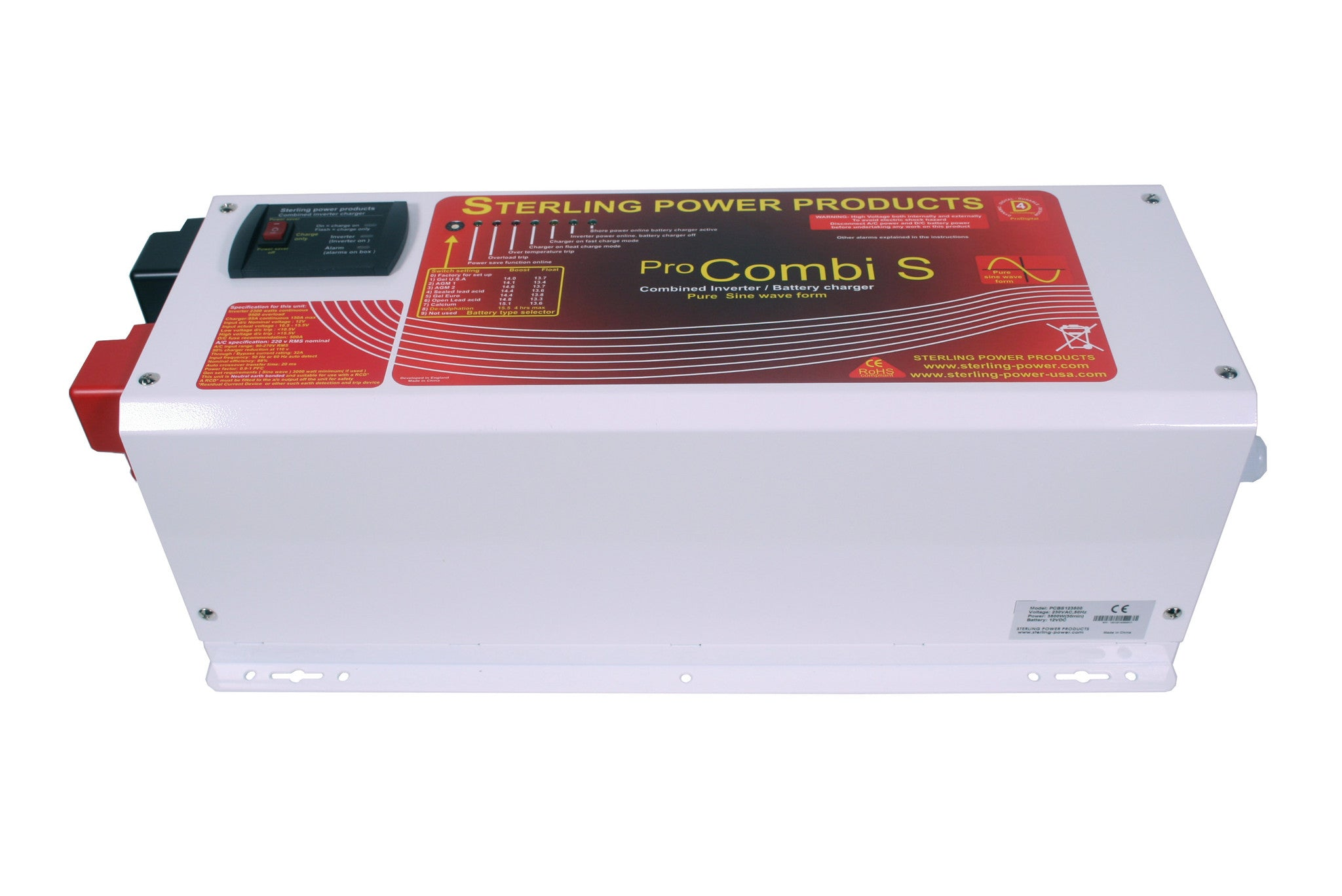 Pro Combi S Pure Sine Wave Inverter Sterling Power Products Circuit Diagram On 1500 Watt Schematic 112680 Variant