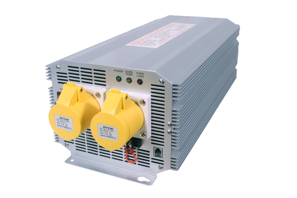 12V / 24V 2500W 110V Quasi Sine Wave Inverters with Engine Interlock (30 Days Warranty)