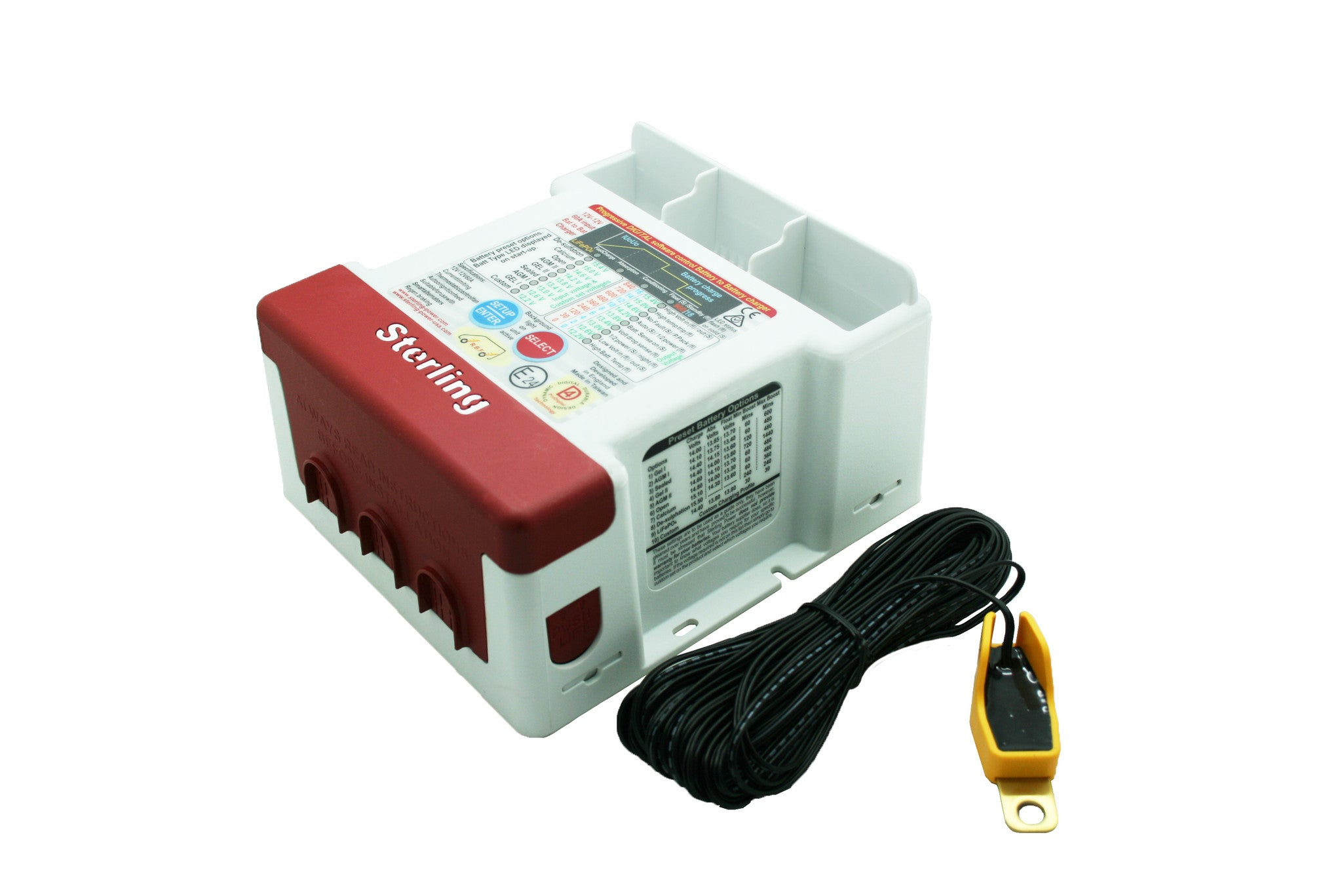 Battery to Battery Charger BB1260R Red Label (BRAND NEW) 12 months warranty