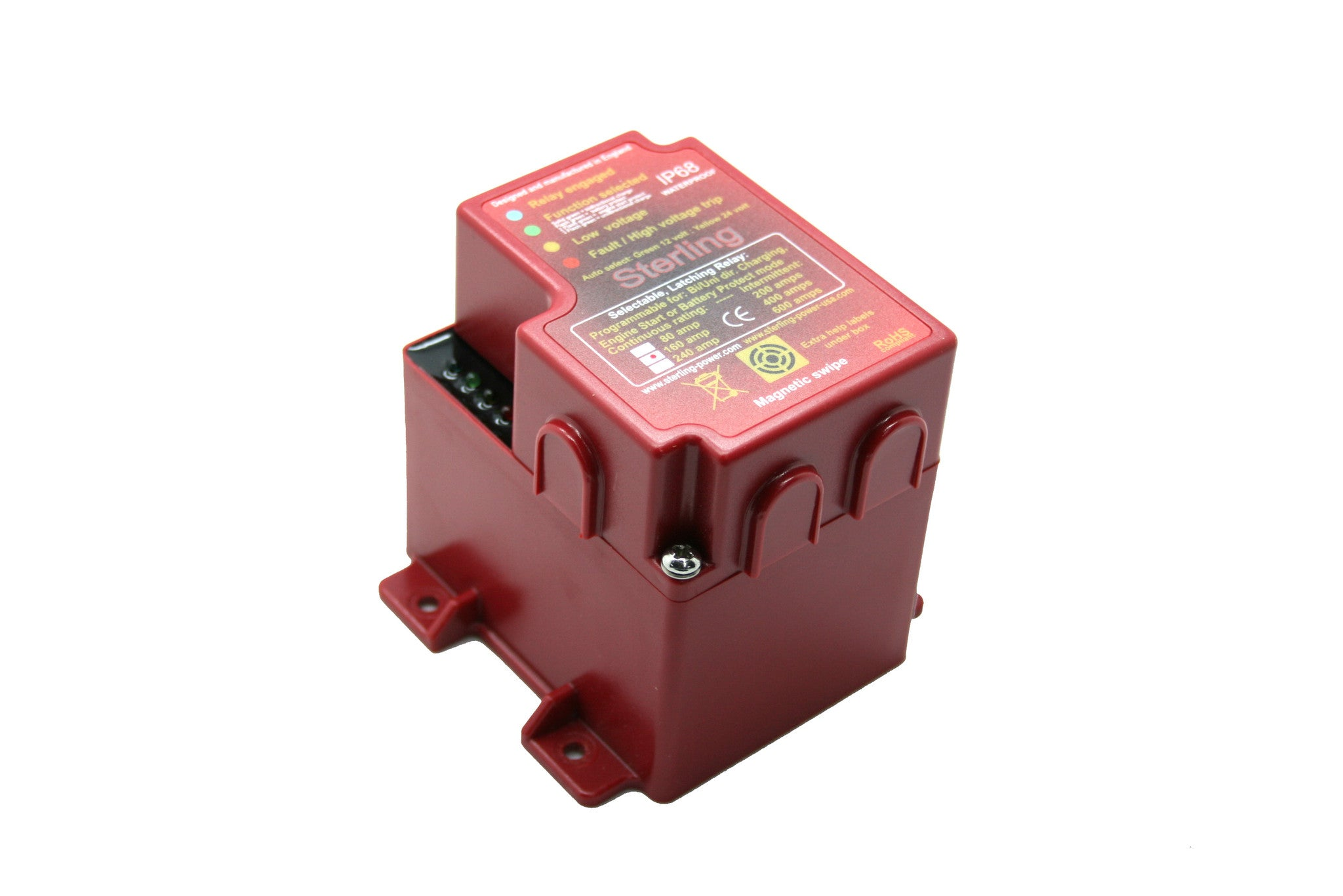 Latching Relay Pro Latch R Sterling Power Products 80 Amp Fuse Box