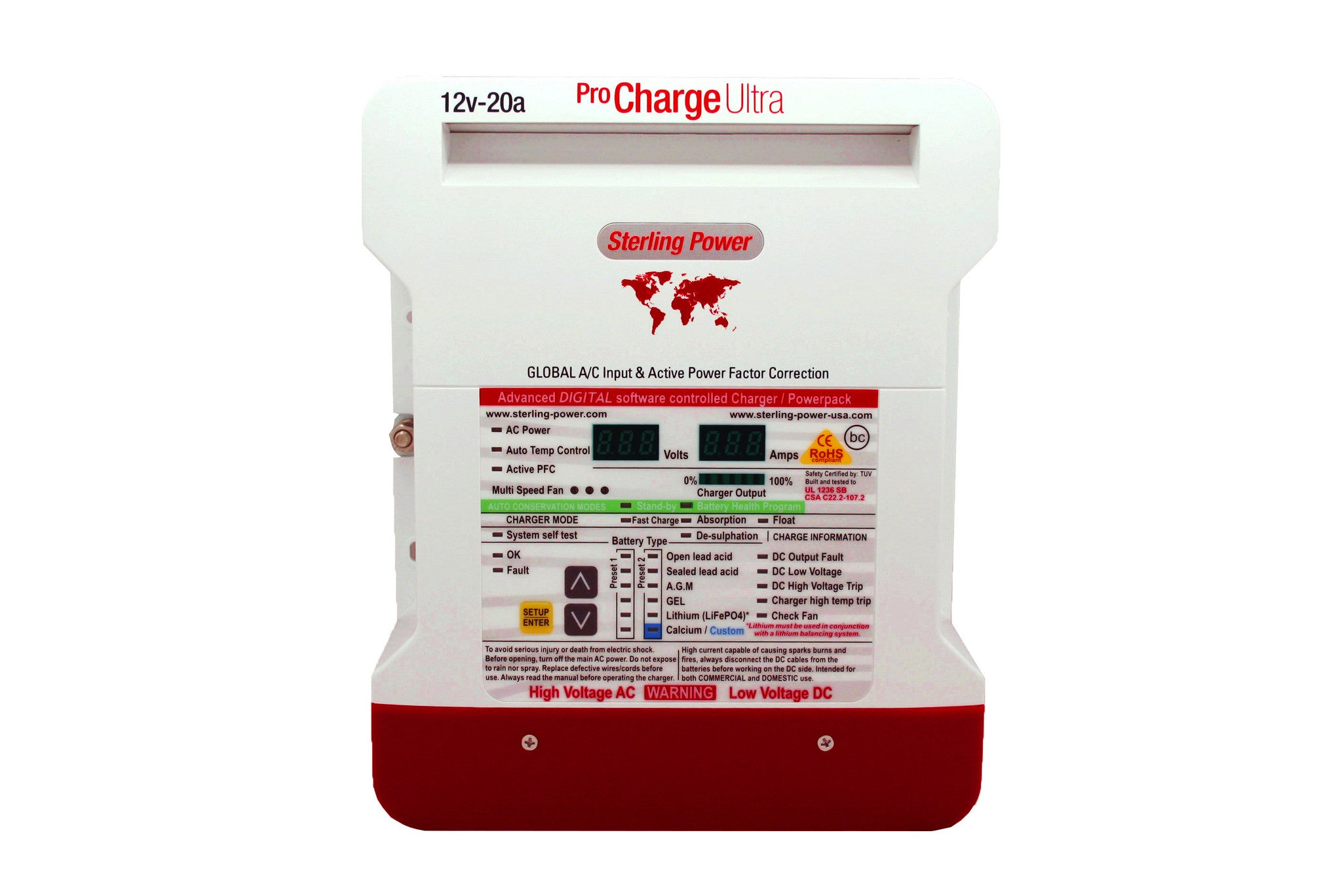 Pro Charge Ultra 10A-60A (12V - 48V) (5yr Warranty)