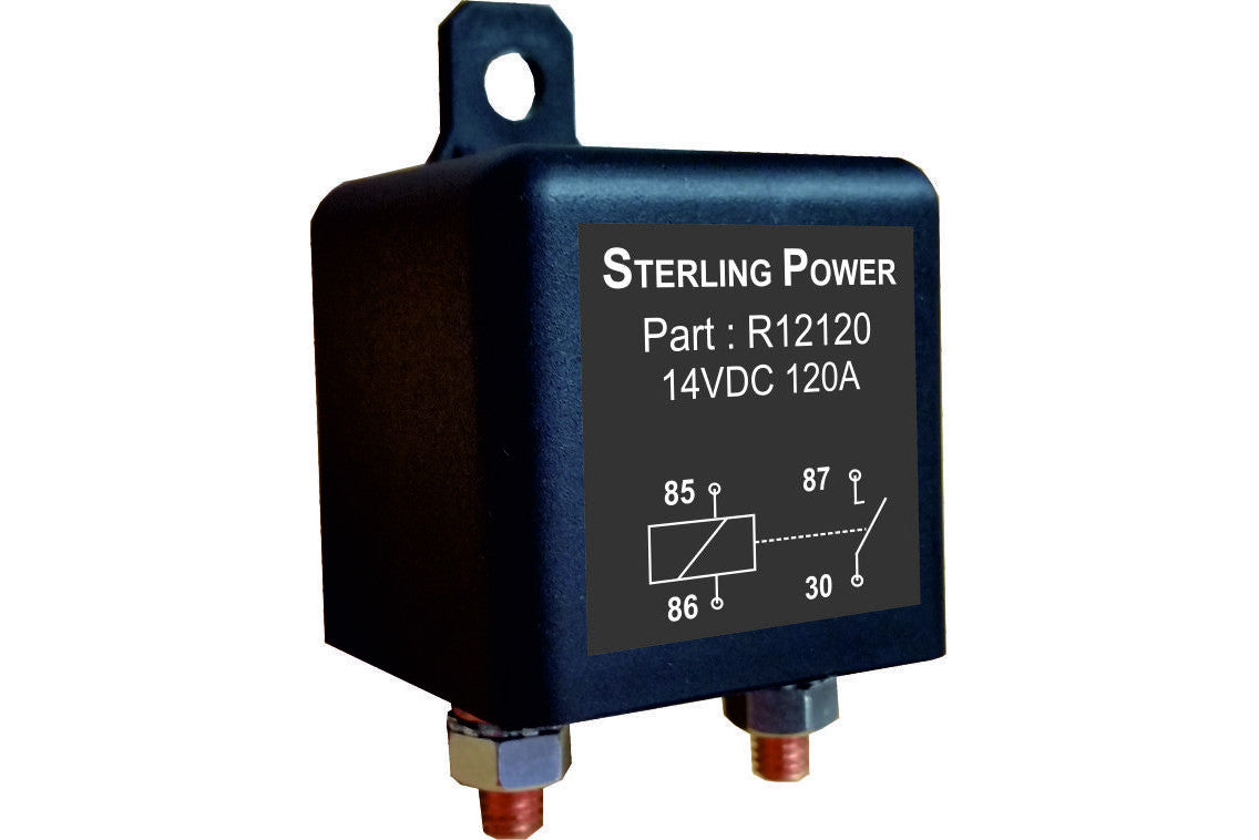 Conventional Ignition Fed Relays Sterling Power Products 5 Pin Crossover Relay