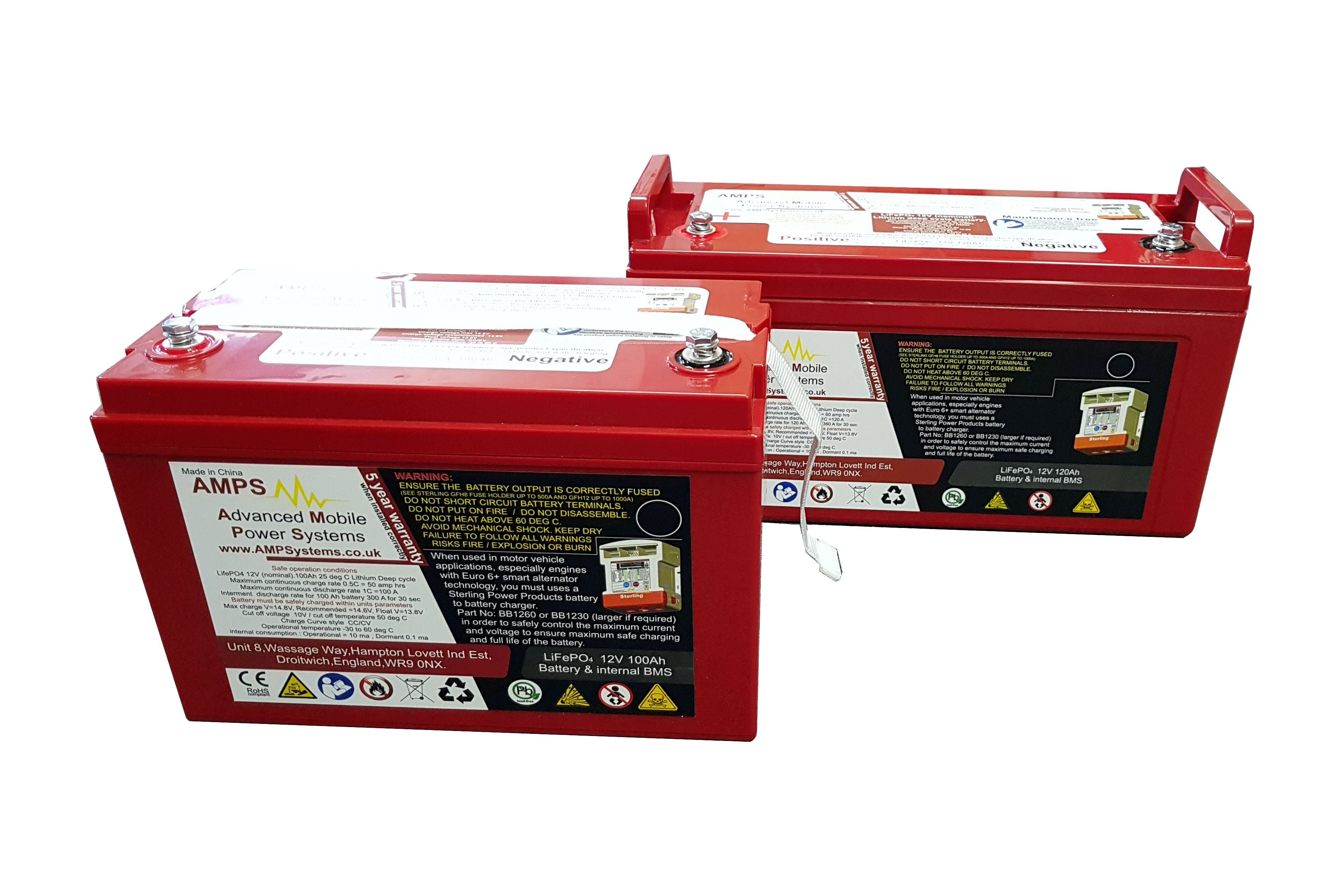Lithium Batteries Sterling Power Products Ah 120 Fuse Box